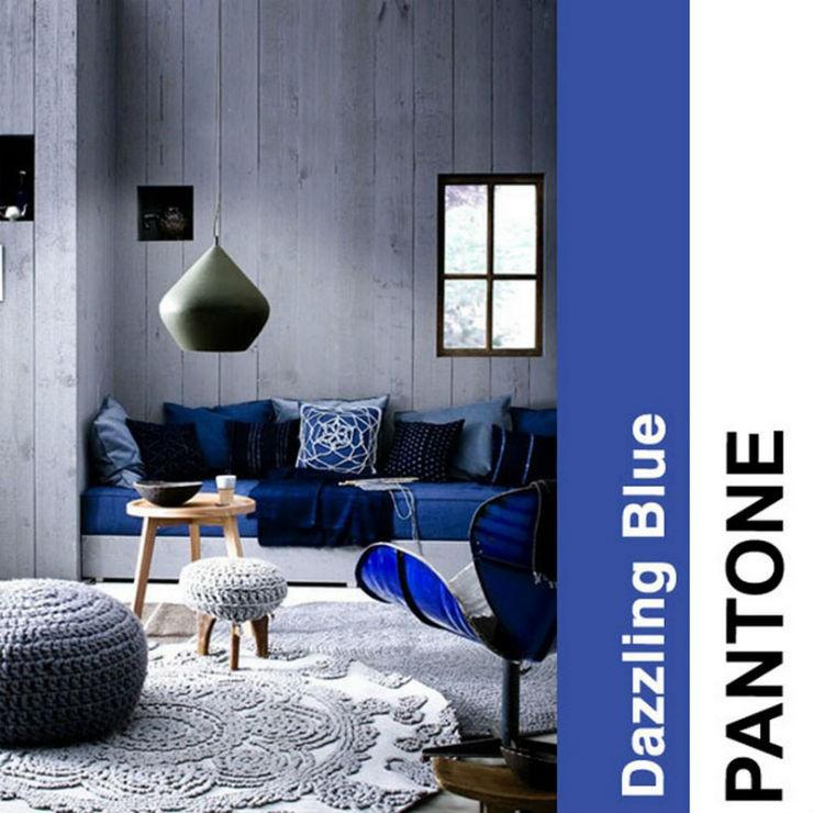 """""""O azulão é cor pantone de 2014""""  Decoração: Cores Pantone para 2014! PantoneBlue2014"""