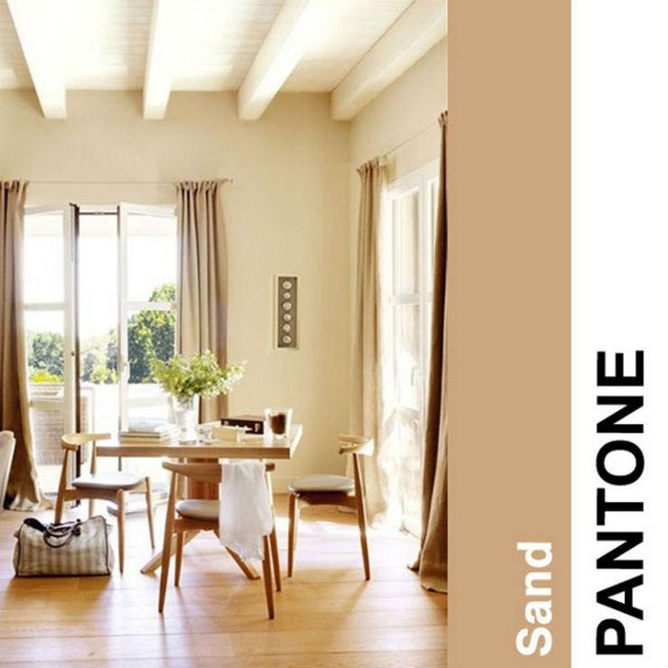"""""""Cor de areia""""  Decoração: Cores Pantone para 2014! Pantonebeije2014"""