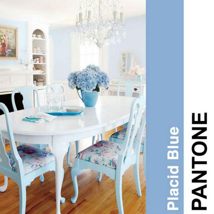 """""""O azul claro do pantone""""  Decoração: Cores Pantone para 2014! Pantoneplacidblue2014"""