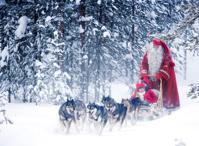 """Papai Noel na Finlãndia!""  Lifestyle: As 10 cidades mais bacanas no Natal Rovaniemi Finland christmas"