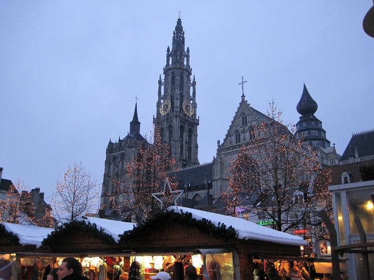 """""""Antuérpia na Bélgica um local mágico.""""  Lifestyle: As 10 cidades mais bacanas no Natal antuerpia belgica"""