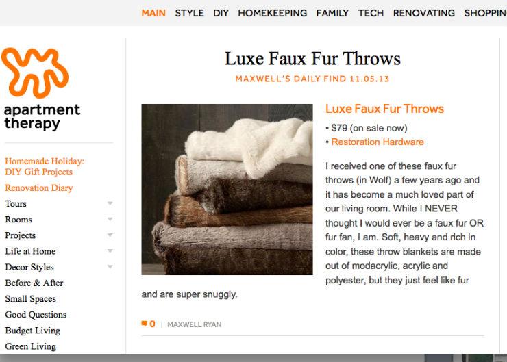 """""""Apartment Therapy, um blog de decoração de interiores super famoso.""""  DECORAÇÃO: 10 blogs de decoração de interiores que valem a pena apartmenttherapy"""