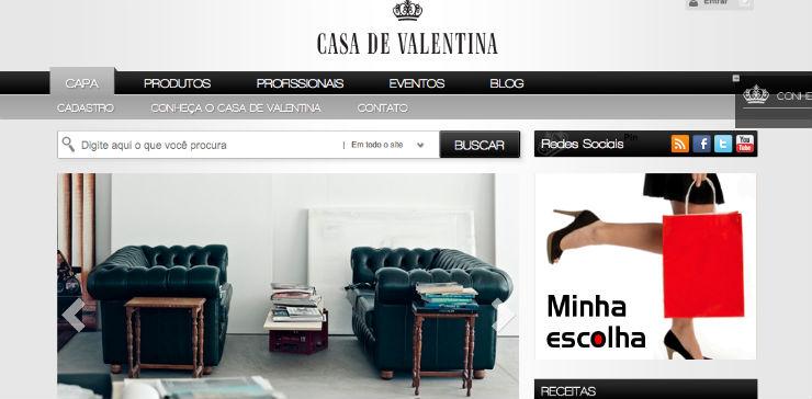 """""""Famoso blog brasileiro sobre decoração de interiores.""""  DECORAÇÃO: 10 blogs de decoração de interiores que valem a pena casadavaletina"""