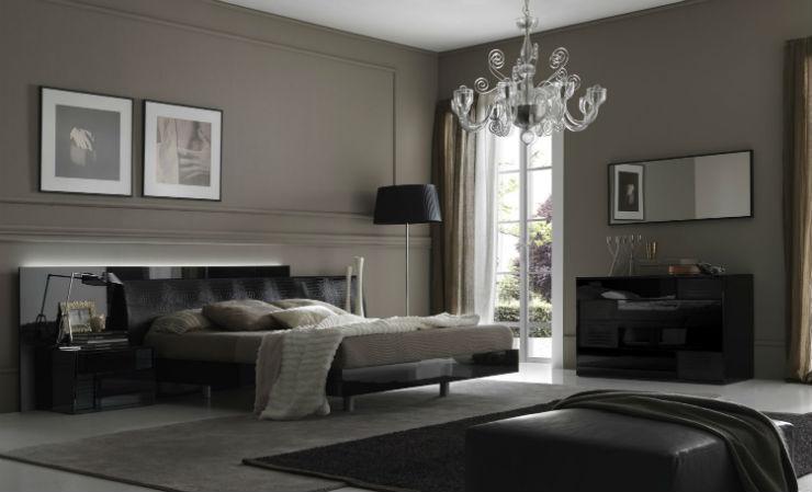 10 Quartos em Tons de Preto Para Apimentar a Sua Relação Quartos em Tons de Preto 10 Quartos em Tons de Preto Para Apimentar a Sua Relação contemporary bedroom design