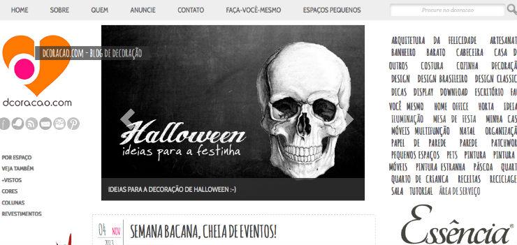 """""""Dcoração, blog brasileiro que aposta no DIY e em tutoriais.""""  DECORAÇÃO: 10 blogs de decoração de interiores que valem a pena dcoracao"""