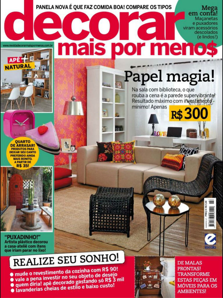 Decoração: 10 Revistas de Decoração que nos Inspiram 10 revistas de decoração que nos inspiram Decoração: 10 Revistas de Decoração que nos Inspiram decorarmaispormenos