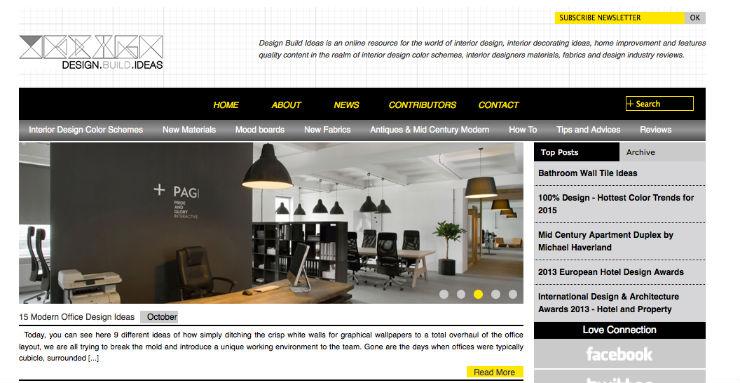 """""""Design built ideas é um dos blogs com mais ideias relacionais entre moda e decoração.""""  DECORAÇÃO: 10 blogs de decoração de interiores que valem a pena designbuiltideas"""