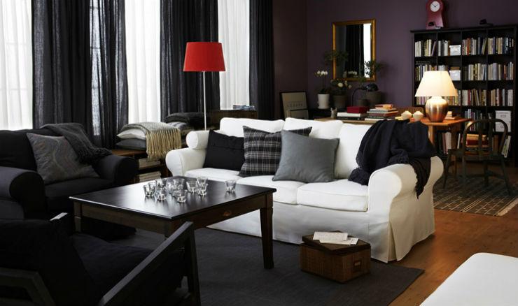 """""""Ikea e os sofá simples e baratos.""""  Sexo no sofá: 10 modelos que você vai querer testar ikea"""