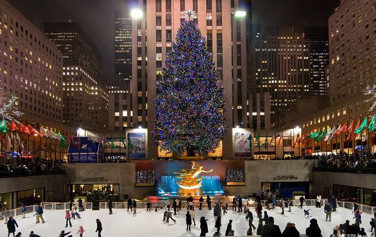 """""""Nova York e sua árvore de Natal.""""  Lifestyle: As 10 cidades mais bacanas no Natal nycxmas"""