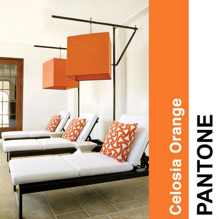 """Laranja forte para 2014""  Decoração: Cores Pantone para 2014! pantoneorange2014"