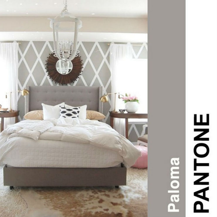 """""""Um cinza doce""""  Decoração: Cores Pantone para 2014! pantoneploma2014"""