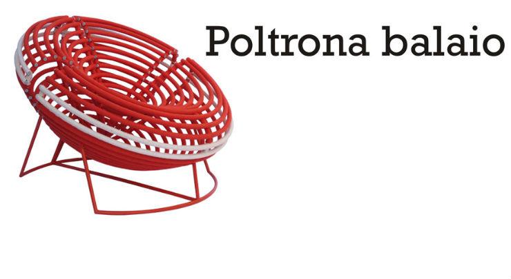 """""""Poltrona Balaio, inspirada nos cestos com mesmo nome.""""  Sérgio Matos: design brasileiro conquista o mundo poltronabalaio"""