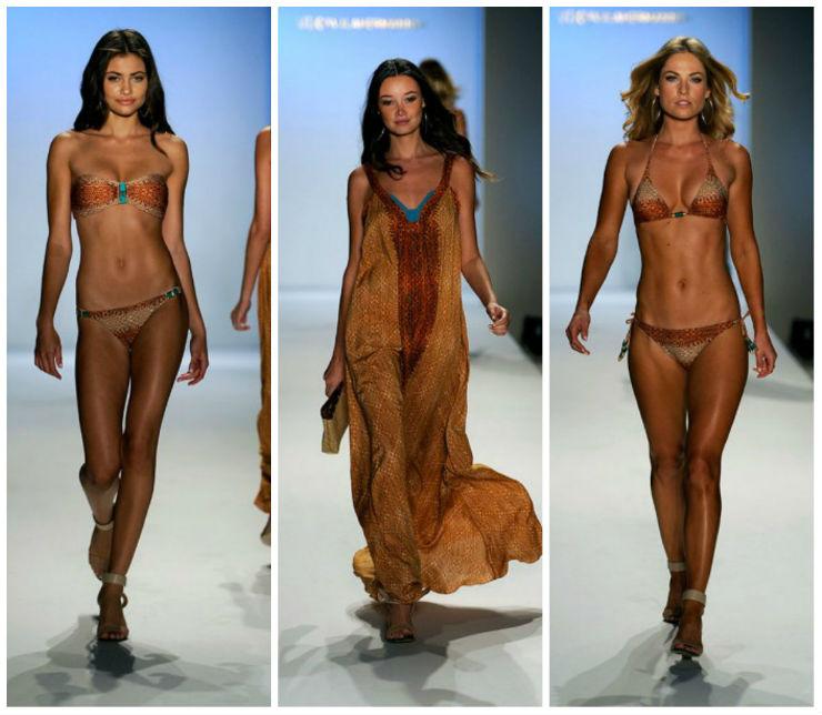 """""""O Verão na vix é de tons terra.""""  Sensual na praia: bikinis para deixar qualquer um louco verao 2014 vix"""