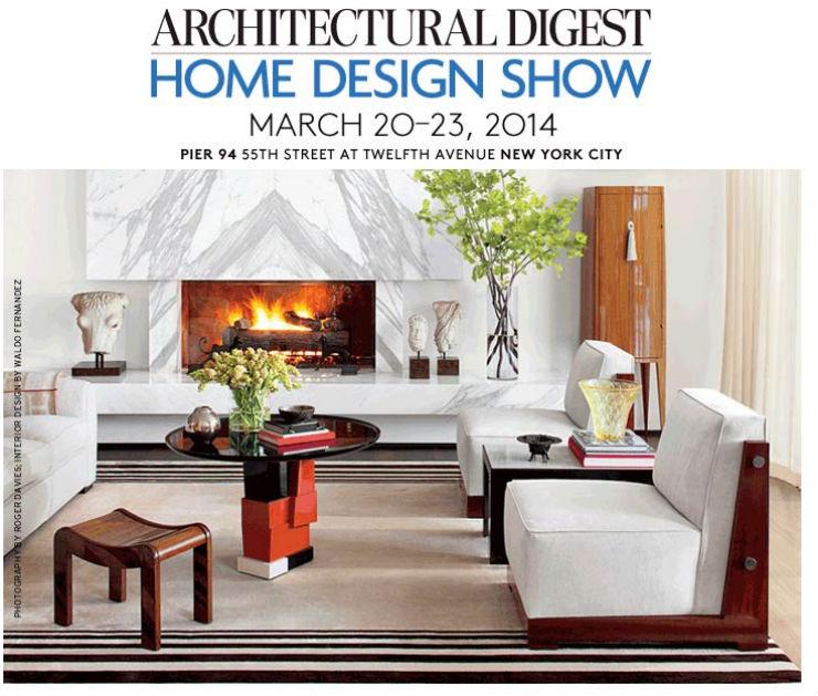 """""""Architectural Digesnt HOme Design Show 2014, Nova Iorque""""  Decoração & Design: 5 feiras para visitar no início de 2014 ADShow2014"""