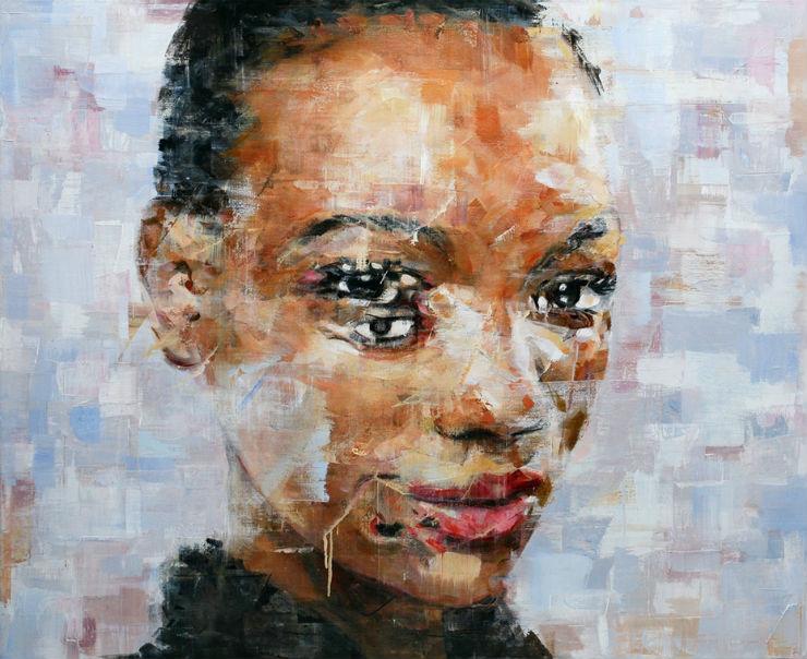 """Retrato parece que tem movimento por Harding Meyer""  Arte & Cultura:Harding Meyer, o pintor brasileiro retratista HardingMeyer 1"