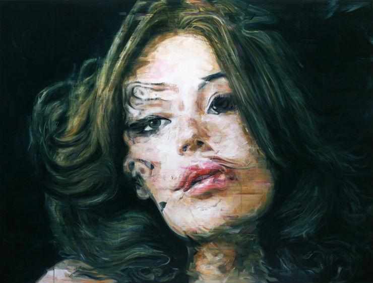 """""""Desfocado retrato por Harding Meyer""""  Arte & Cultura:Harding Meyer, o pintor brasileiro retratista HardingMeyer 2"""