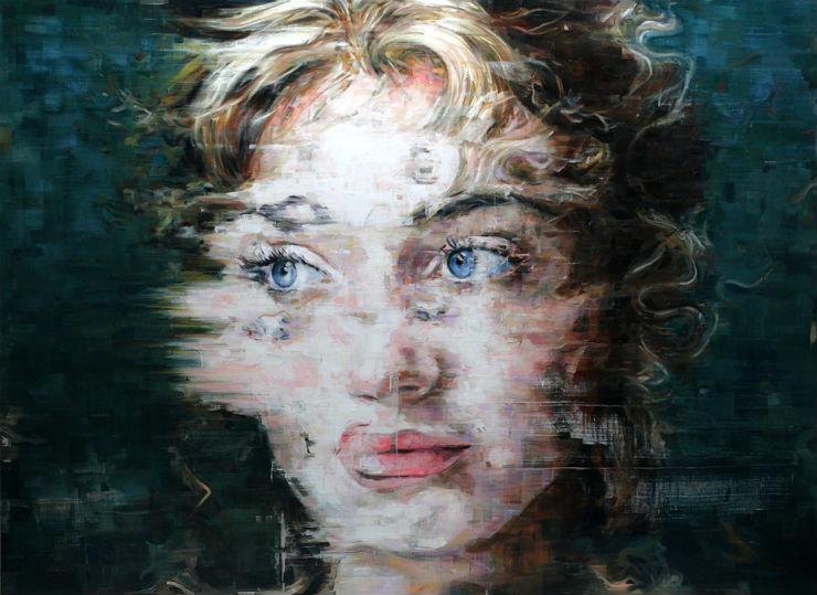"""""""Actriz num retrato de Harding Meyer""""  Arte & Cultura:Harding Meyer, o pintor brasileiro retratista HardingMeyer retrato3"""
