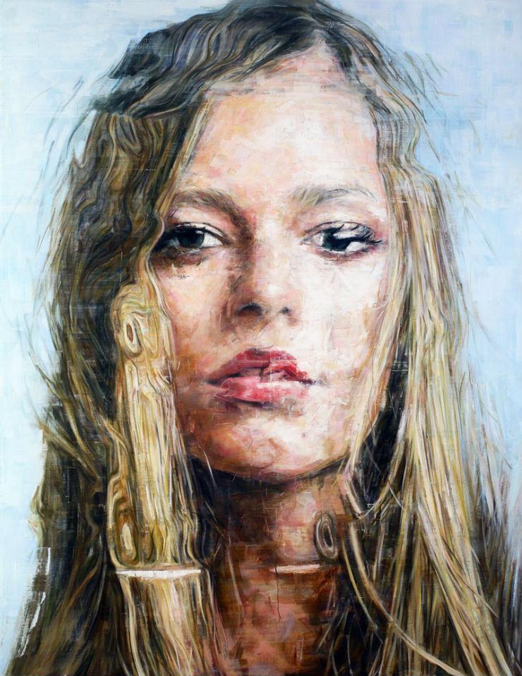 """""""Quem é ela? Harding Meyer e um dos seus retratos realistas.""""  Arte & Cultura:Harding Meyer, o pintor brasileiro retratista HardingMeyer retrato4"""