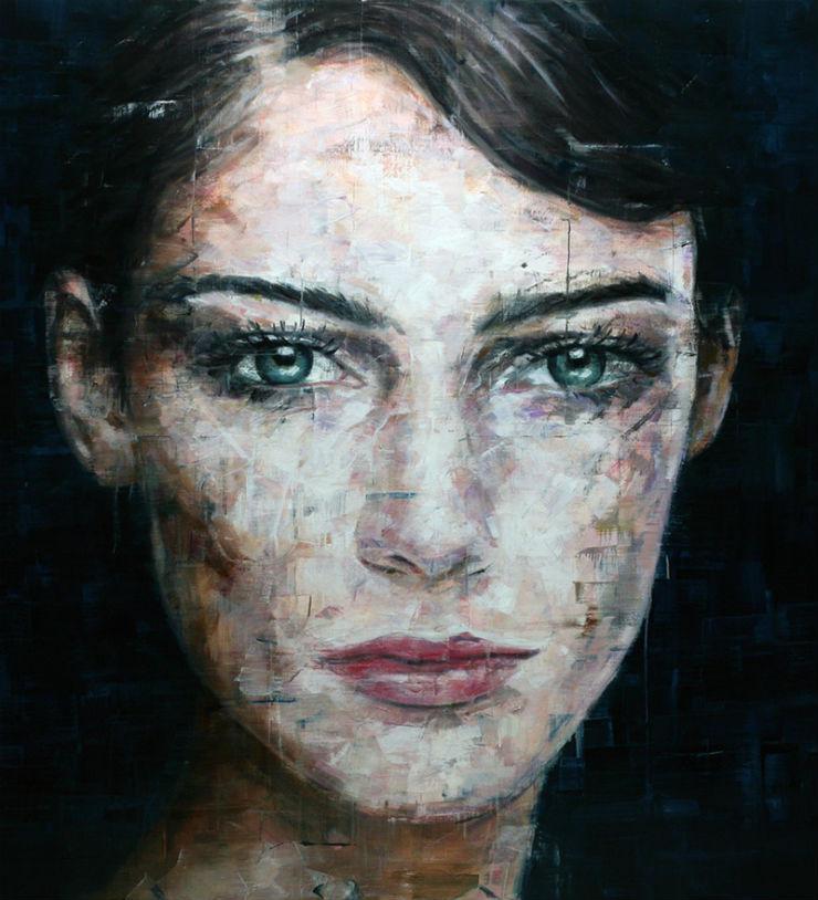 """""""Harding Meyer e um dos seus retratos realistas.""""  Arte & Cultura:Harding Meyer, o pintor brasileiro retratista HardingMeyer retrato6"""
