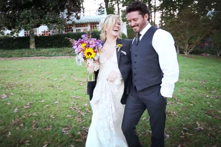 """""""Casamento de Kelly Clarkson""""  Lifestyle: 10 casamentos que marcaram 2013 Kelly Clarkson"""