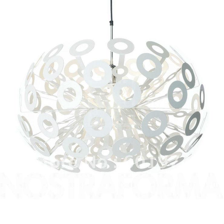 """""""Moooi e seu pendente branco""""  Decoração de Natal: 10 luminárias de design Moooi Dandelion pendant"""