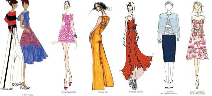 Moda: modelos para uma passagem de ano Pantone