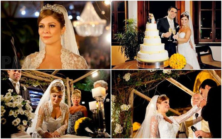 """Casamento de Barbara Borges""   Lifestyle: 10 casamentos que marcaram 2013 barbaraborges"