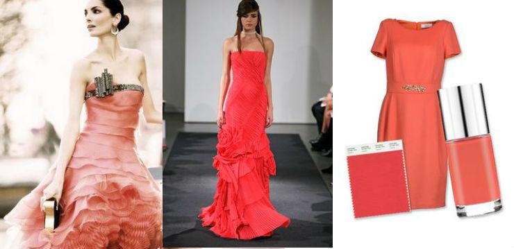 """""""Cayenne pantone cor de roupa 2014""""  Moda: modelos para uma passagem de ano Pantone cayennepantoneroupa"""