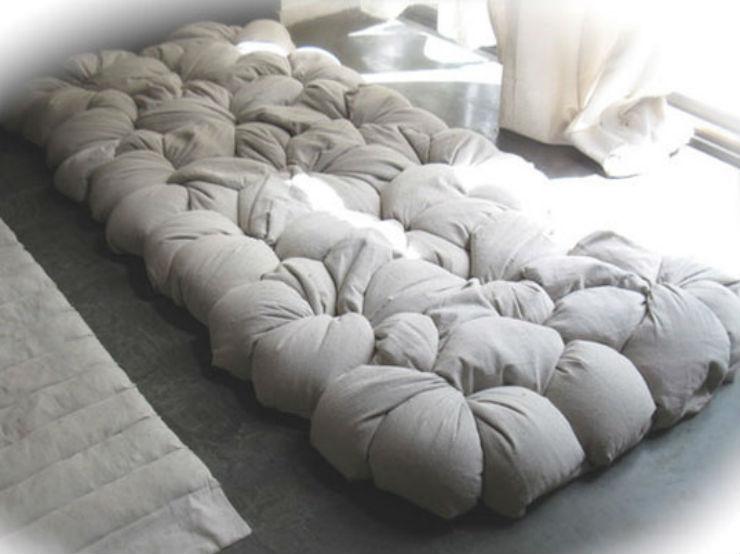 """""""Exemplo de colchão faça você mesmo""""  Lifestyle & Design: Quando o colchão vira arte colchaodiy"""