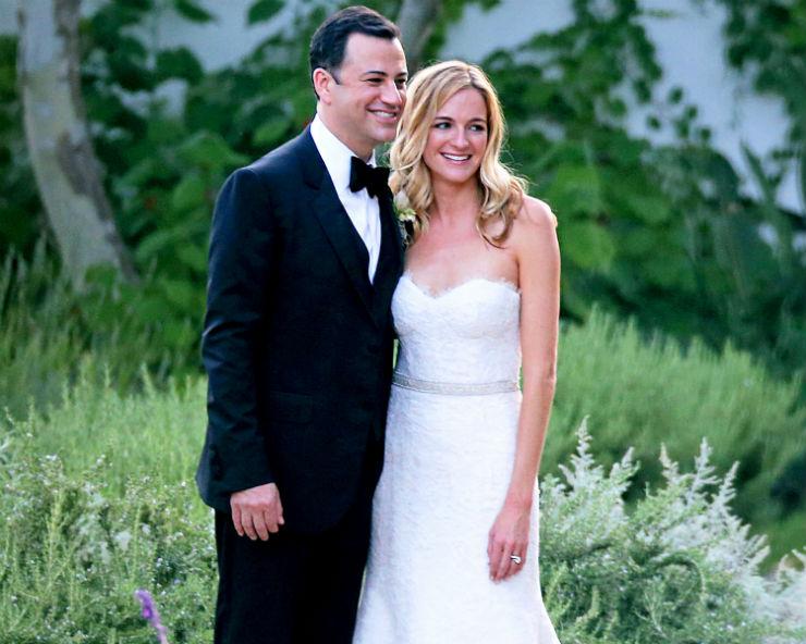 """""""Casamento de Jimmy Kimmel""""  Lifestyle: 10 casamentos que marcaram 2013 jimmykimmel"""