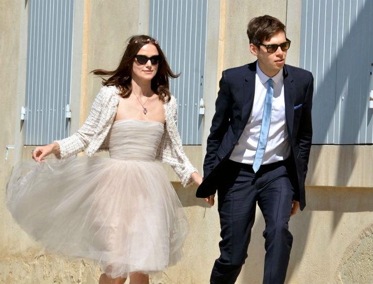 """""""Keira Knightley e seu casamento""""  Lifestyle: 10 casamentos que marcaram 2013 keira knightley james righton"""