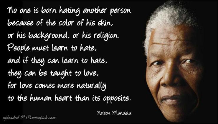"""""""Mandela inspirou por suas frases e feitos.""""  Nelson Mandela, o designer da paz (1918 – 2013) nelsonmandelafras"""