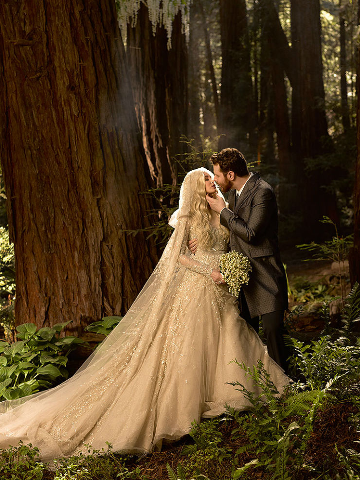 """Sean Parker e sua esposa""  Lifestyle: 10 casamentos que marcaram 2013 seanparker"