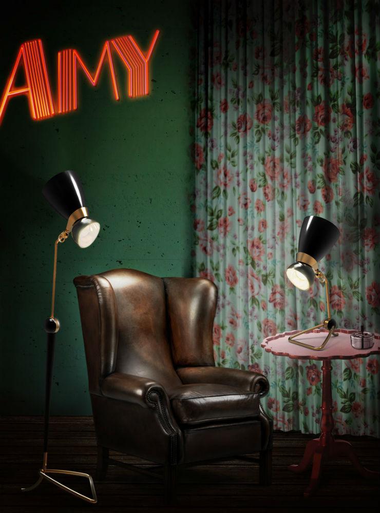 """Amy Delightfull""  Design:Delightfull, marca portuguesa de luminária no Harrods DLamy"