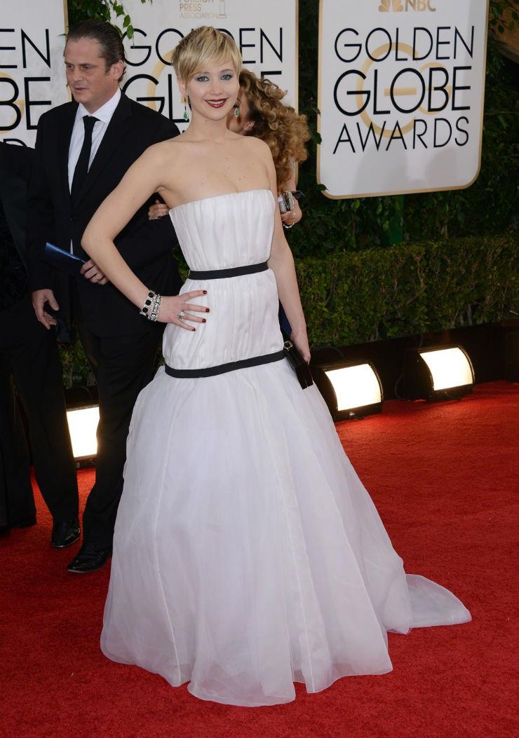 """Jennifer Lawrence in the Golden Globes"""