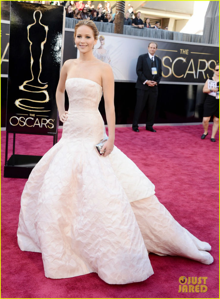 """Jennifer Lawrence@Oscares 2013r""  Moda: O estilo de Jennifer Lawrence JLOscares"