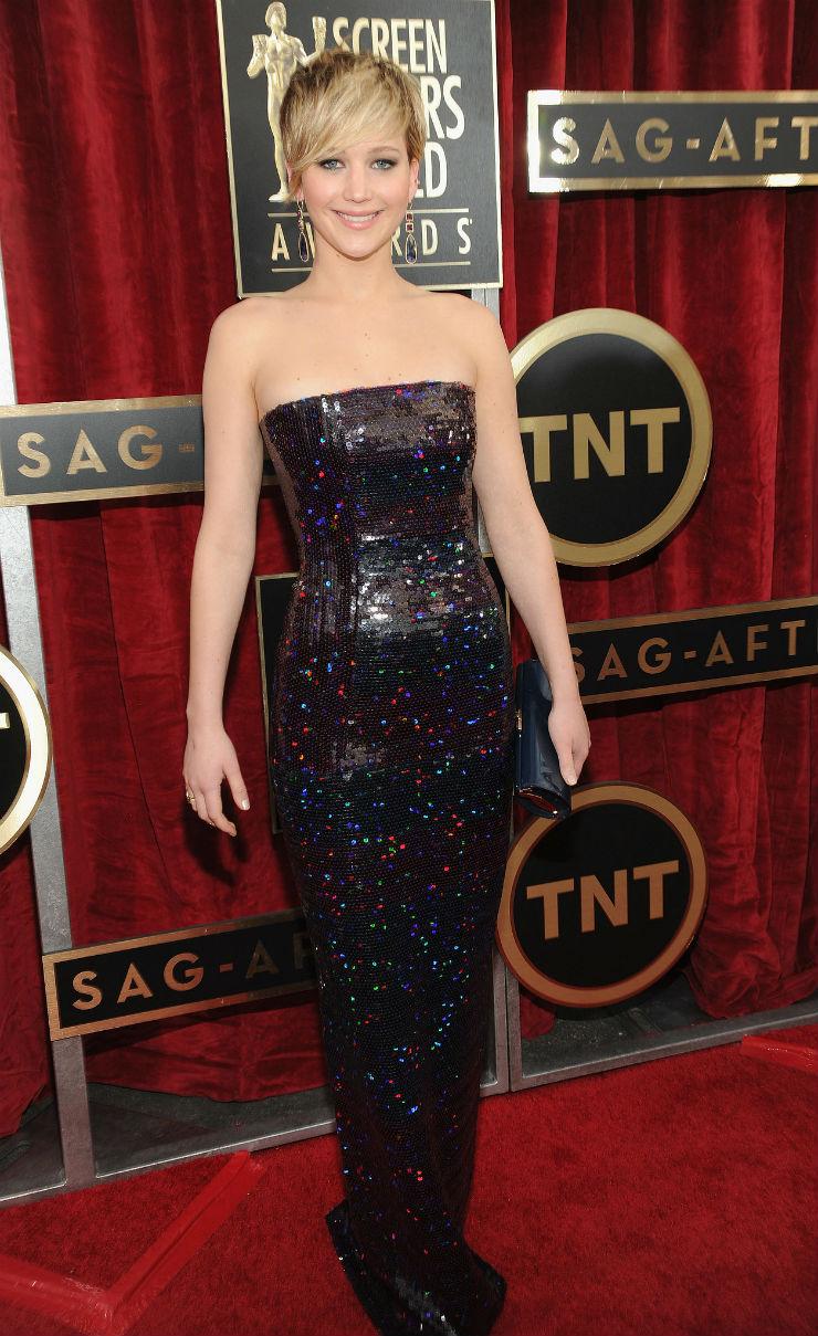 """Jennifer Lawrence in SAG Awards"""