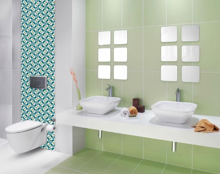 """""""banheiro com papel de parede""""  15 ideias de decoração com papel de parede banheirocompapeldeparede"""