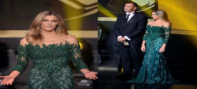 """Vestido de Fernanda Lima FIFA"""