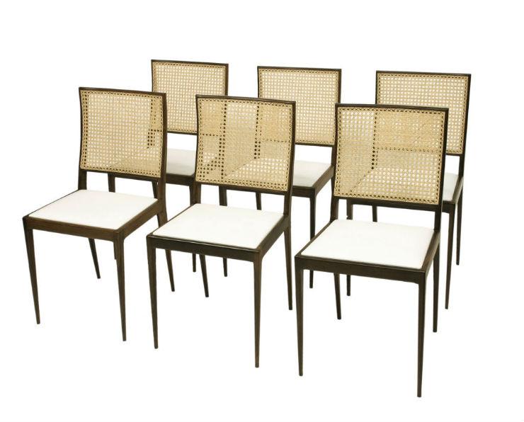 """""""Cadeiras de Joaquim Tenreiro""""  Design: Joaquim Tenreiro, o mestre do design brasileiro cadeirasJoaquim"""