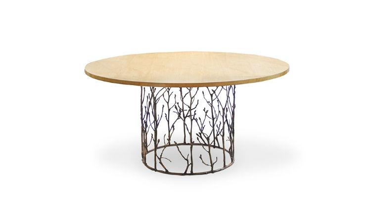 """""""Mesa de jantar Enchanted da KOKET""""  Design: 5 mesas inspiradas na natureza enchantedkoket"""