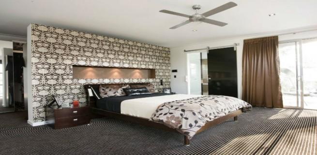 """""""Decoração com papel de parede""""  15 ideias de decoração com papel de parede papeldeparedequarto 655x320"""