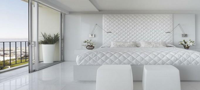 Decoração:10 quartos brancos