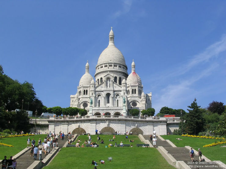 """""""Basílica do Sagrado Coração, Paris""""  Maison & Object: 5 sítios a visitar em Paris sacre coeur"""