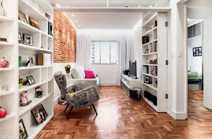 """""""Sala pequena e bem decorada""""  Decoração: 5 salas de estar pequenas mas acolhedoras salapequenadecoracao1"""