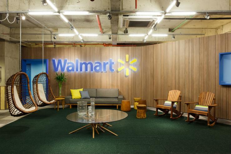 """"""" Inteirores da Walmart São Paulo""""  Arquitetura: Escritório Walmart em São Paulo com golf no telhado walmart8"""