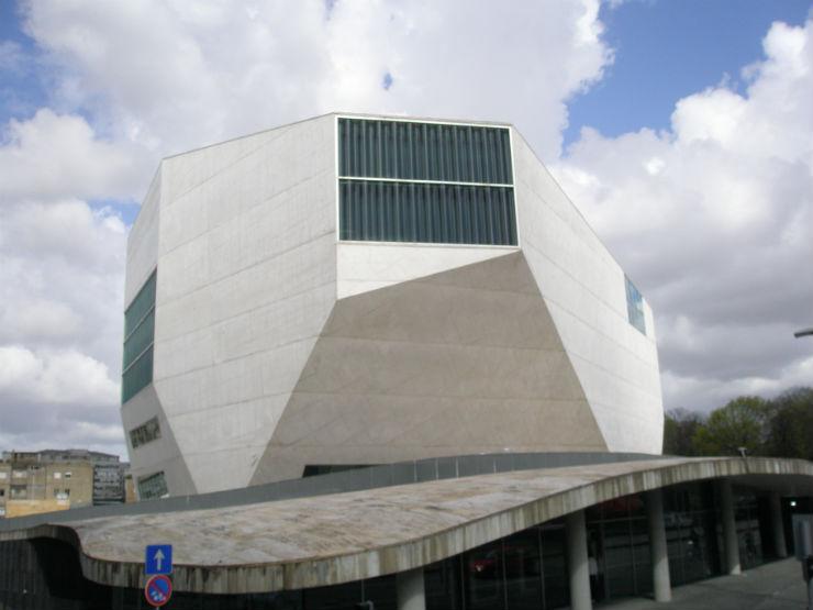"""""""Casa da Música no Porto""""  Porto, o melhor destino europeu Casa da Musica"""