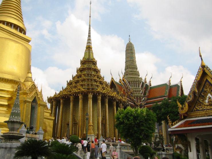 """""""Paláico Real em Bangkok""""  Lifestyle: 10 dicas sobre a Tailândia PalacioReal Bangcoc"""