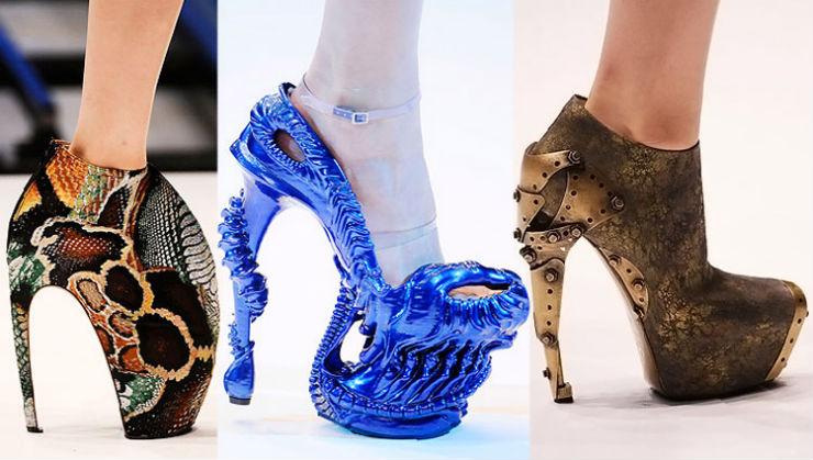 """""""Alexander McQueen e seus sapatos exóticos""""  Top 10 marcas de sapatos de luxo do mundo alexander mcqueen"""