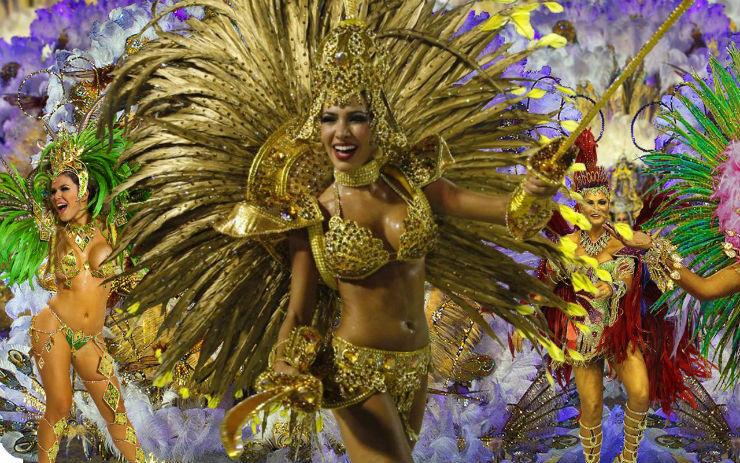 """""""Carnaval no Rio de Janeiro""""  Top salas com decoração inspirada no Carnaval carnaval do rio"""